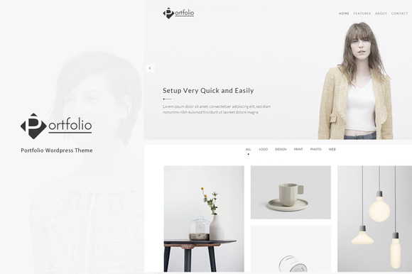 Portfolio - WordPress Theme - Portfolio