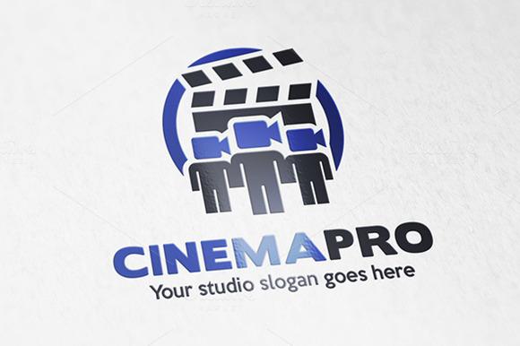 Creative Team Logo Cinema Video Team Logo