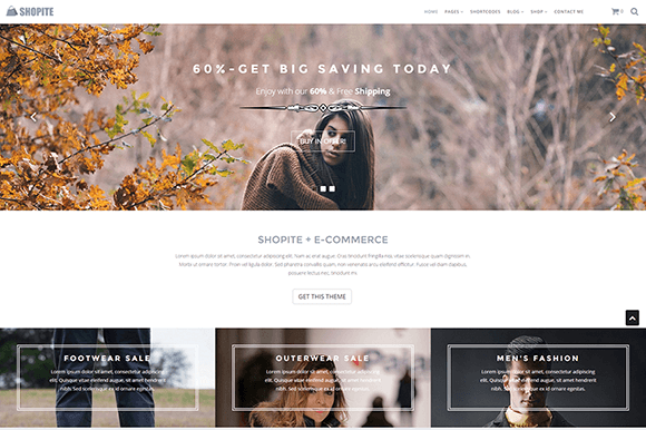 Shopite WooCommerce WordPress Theme