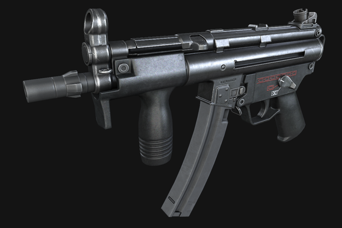 MP5K Submachine Gun