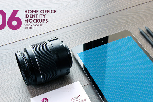Home Office Identity Mockups