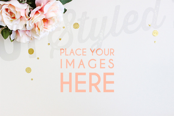 Floral Stock Photo Mock Up A102