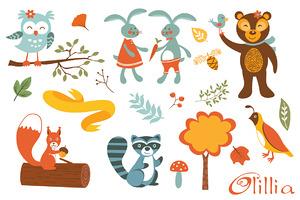 Woodland creatures fun