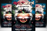 Halloween Flyer Template 5-Graphicriver中文最全的素材分享平台