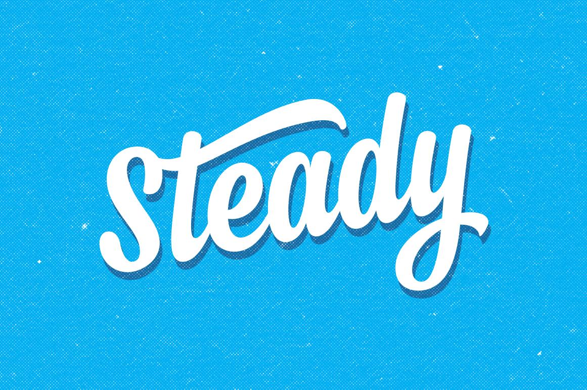 Steady 25 Off Script Fonts On Creative Market