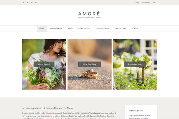Amoré – A Genesis Ecommerce Theme
