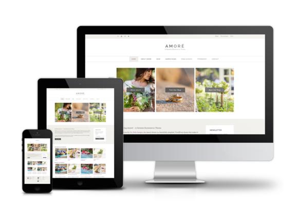 Amoré - A Genesis Ecommerce Theme