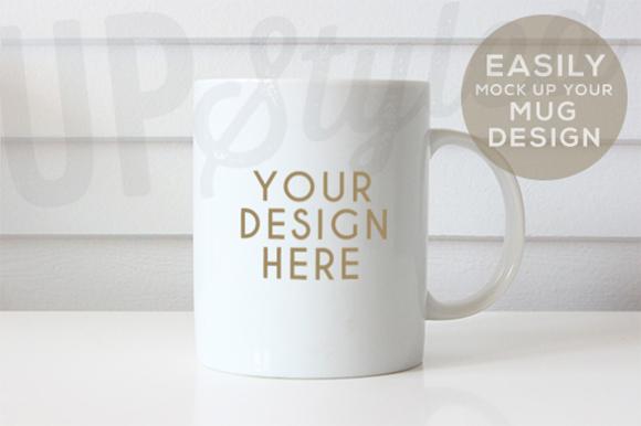 plain white mug mock up f179