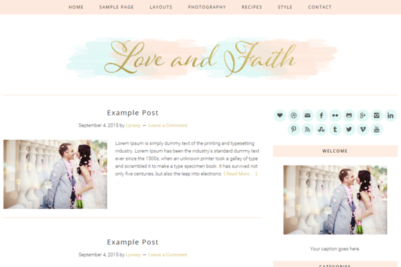Responsive Wordpress Theme Love