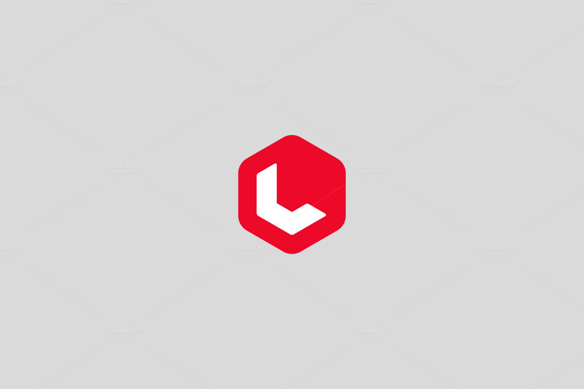 Abstract Letter L Logo Logo Templates On Creative Market
