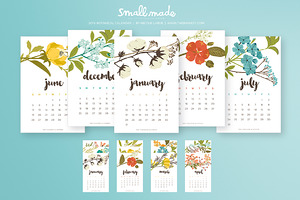 2016 Botanical Calendar (Printable)