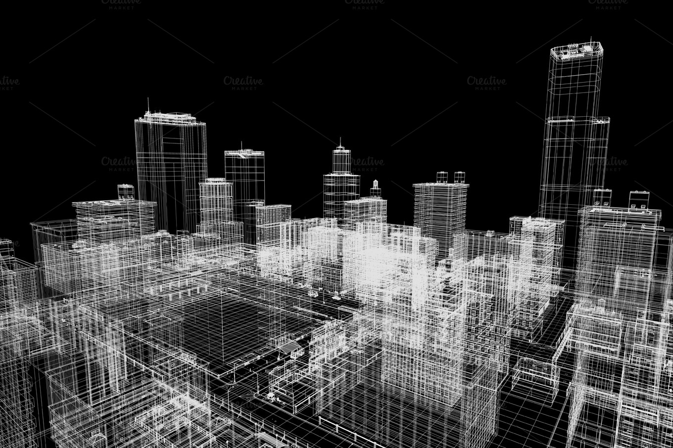 City buildings plans in 3d printing architecture photos for Construction plan printing