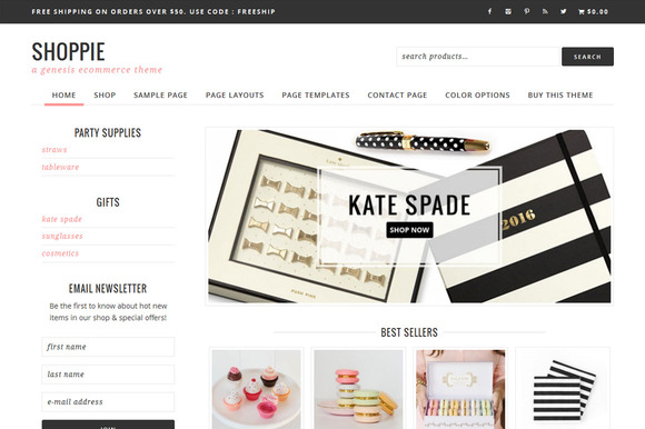 Shoppie // Genesis eCommerce Theme