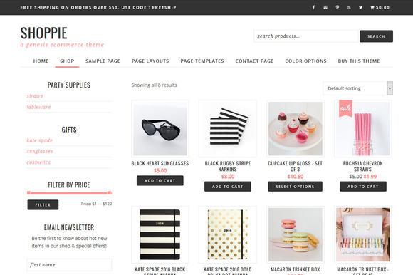 Shoppie // Genesis eCommerce Theme