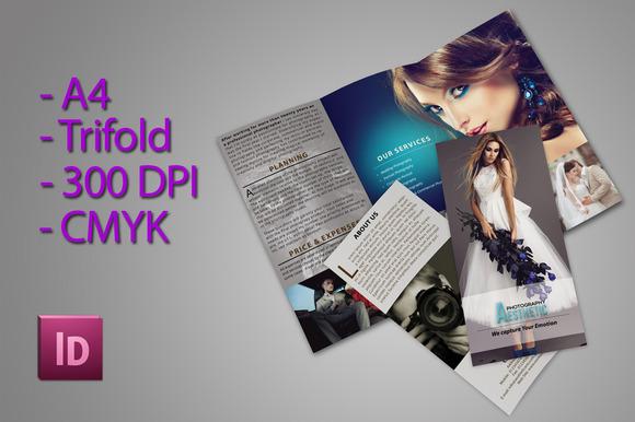 CM - Trifold Brochure For Photographer 360800