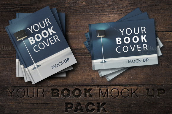 New Price Book Cover Mock-UP Pack