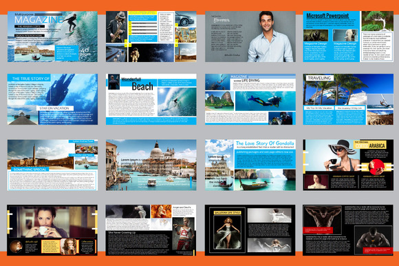 cm – powerpoint magazine template 360601 - heroturko download, Powerpoint templates