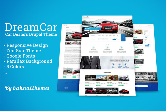 DREAM CAR Premium Car Dealer Theme