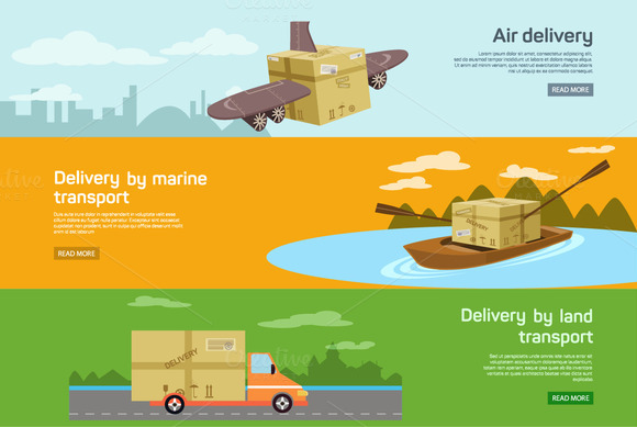 Maritime Air Transport Delivery