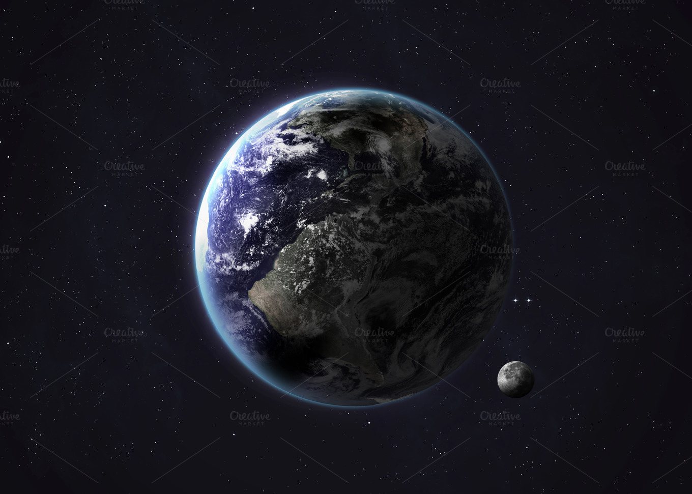 Solar system planet - Earth ~ Abstract Photos on Creative ...