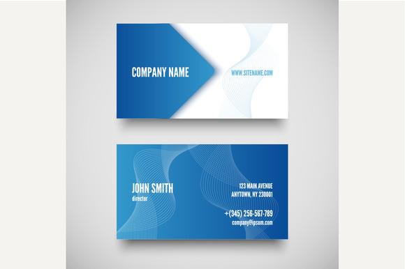Vector Business Card Set