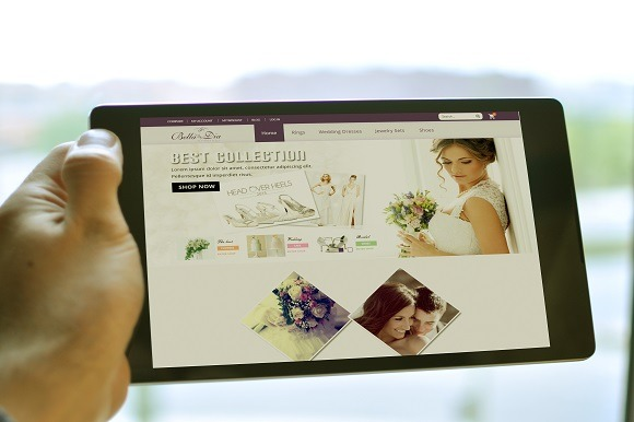 Responsive Magento Wedding Theme