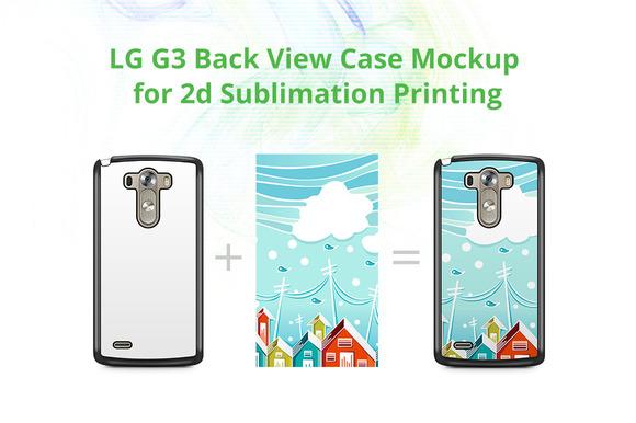 LG G3 2dCase Design Mockup