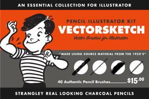VectorSketch | Pencil Brushes