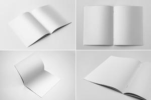 US Letter Brochure Mockups