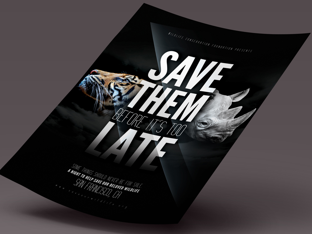 Wildlife Conservation Flyer Flyer Templates On Creative