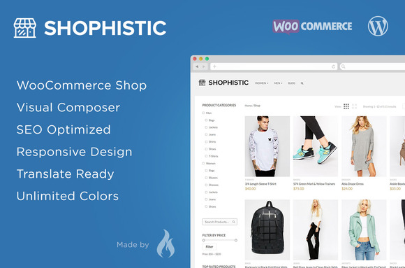 Shophistic – WooCommerce Theme