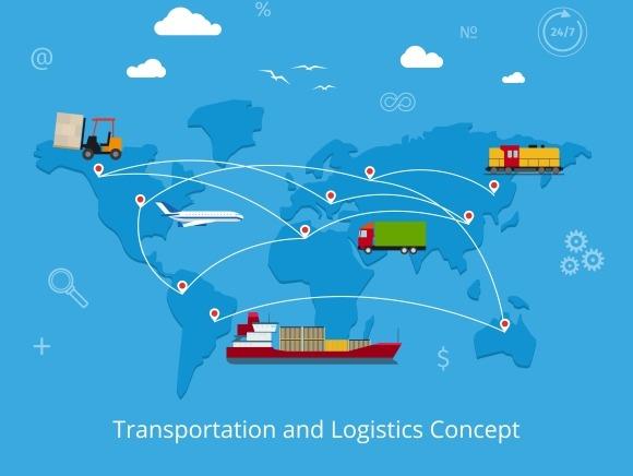 Logistics And Transportation Concept