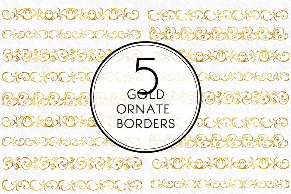 Gold Ornate Borders