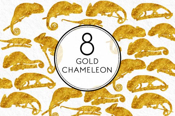 Gold Chameleon