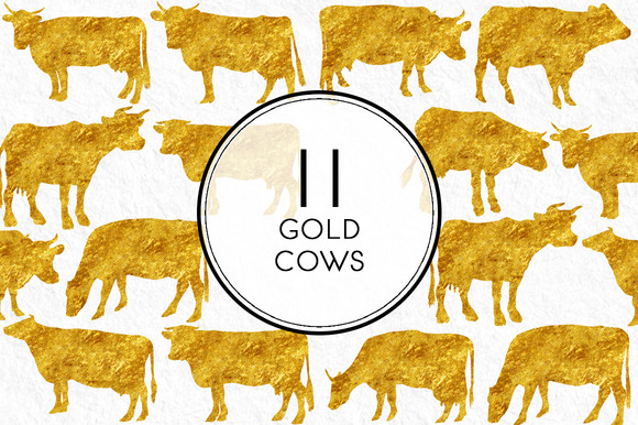 Gold Cows