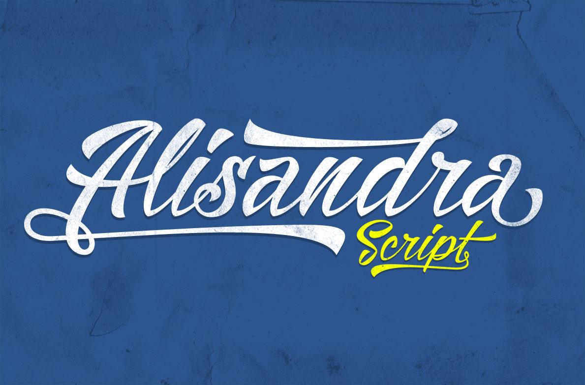 Alisandra Script Font Download