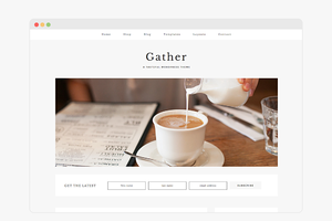 Gather - Wordpress Theme