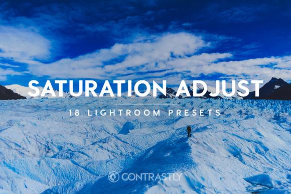 Saturation Adjustment Lightroom Presets