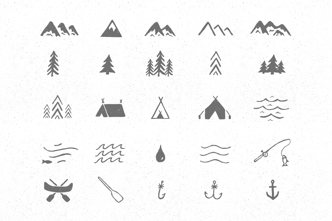 Adventure Icon Pack ~ Icons on Creative Market