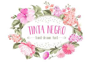 Tinta Negro Font