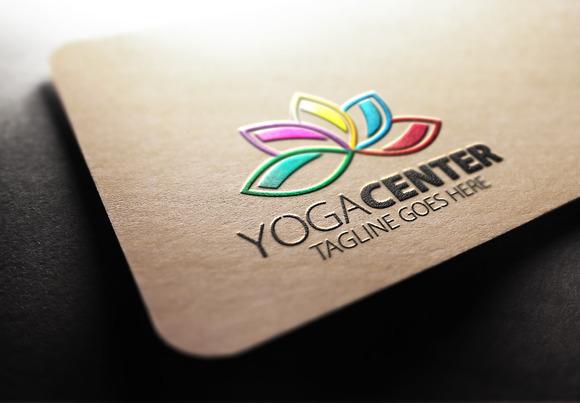 Yoga Center Logo