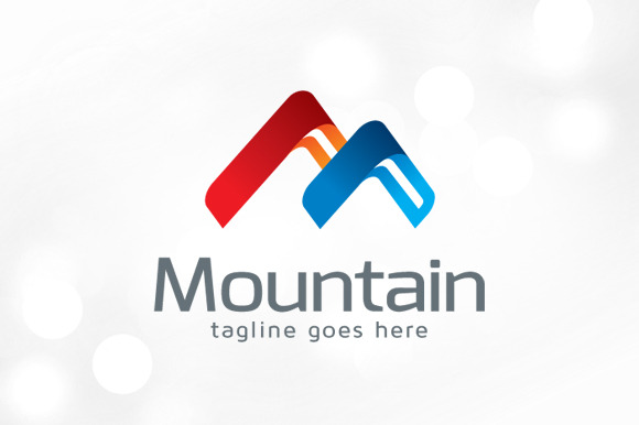 Logo Using Letters Letter m Logo Template