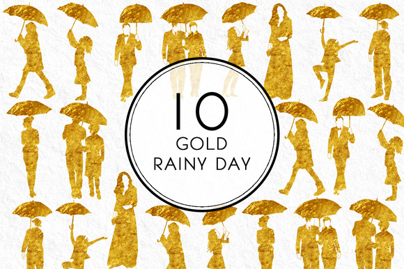 Gold Rainy Day