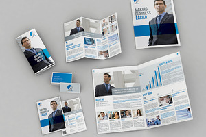 Set of Brochures / Stationery 03