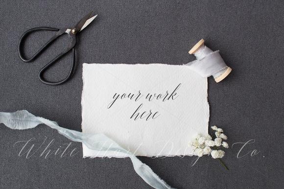 Styled Stock Photo Wedding Invite