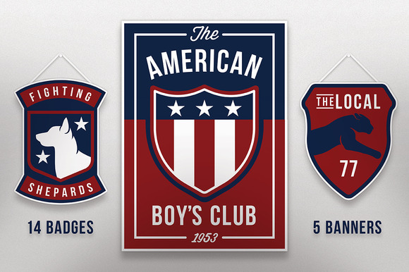 The American Boy's Club Vector Pack