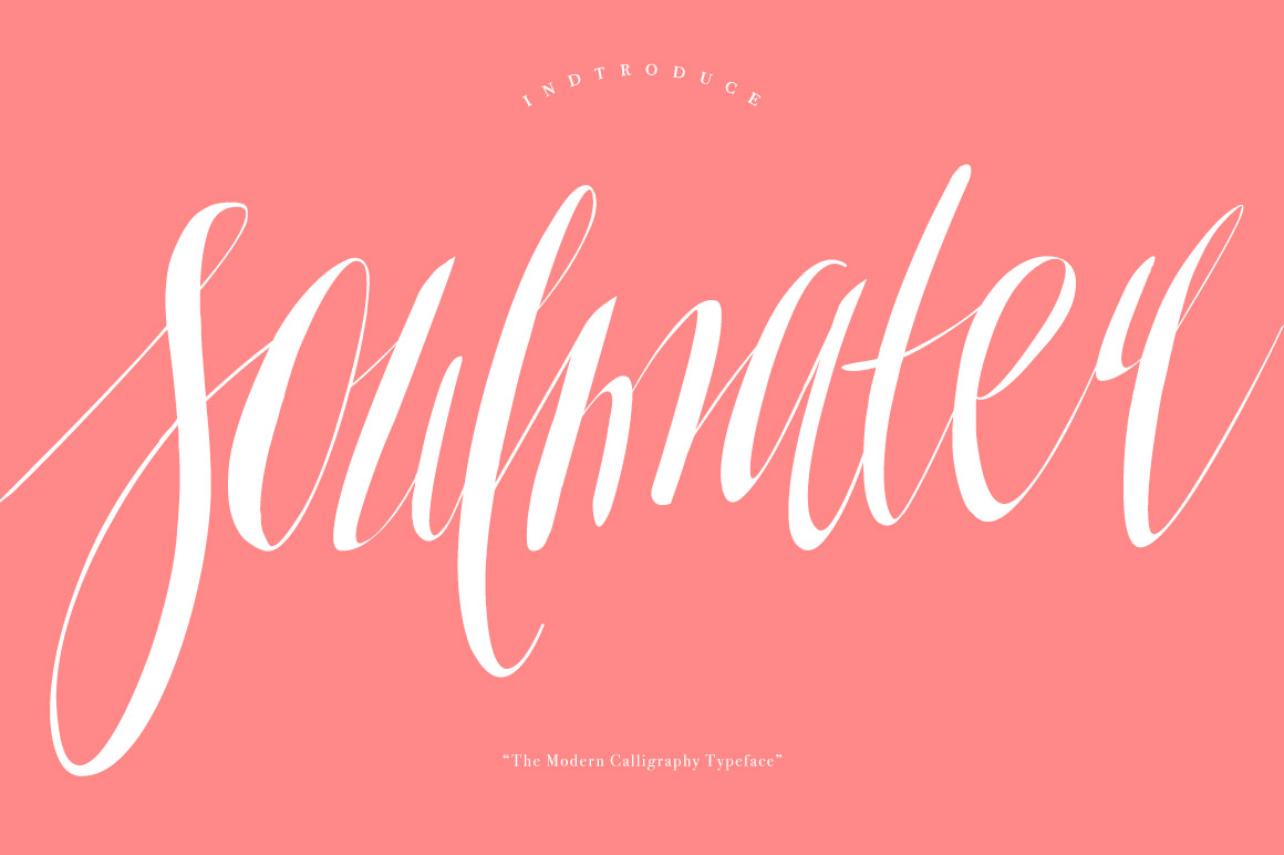 Soulmater Typeface Font Download