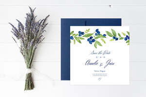 Blueberry Wedding Collection