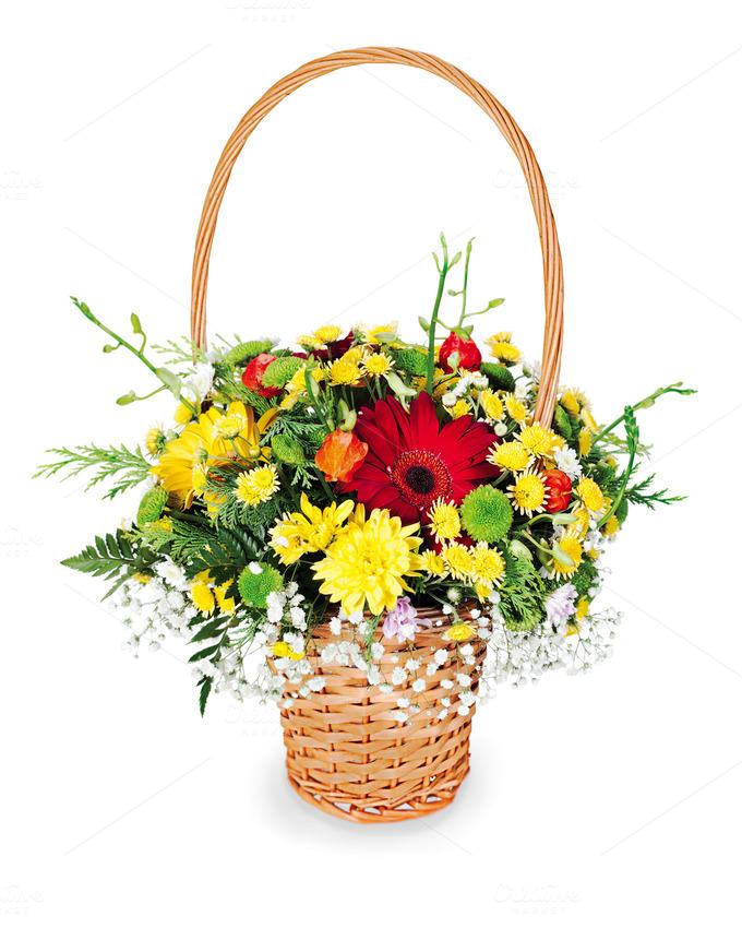 Flower bouquet arrangement photos on creative market