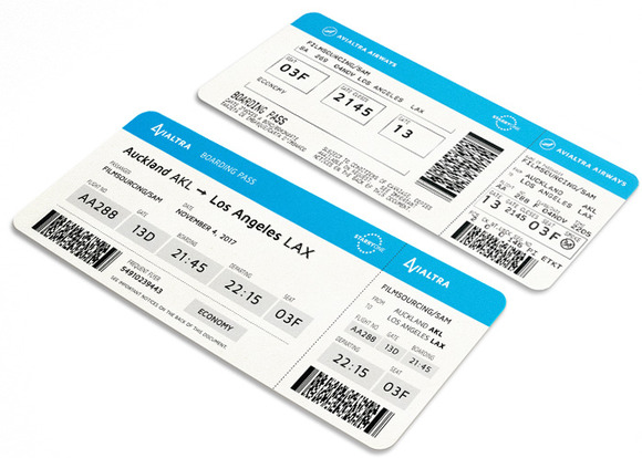 Fake boarding pass logo templates on creative market for Fake boarding pass template